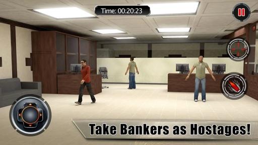 银行劫案侠盗猎城截图1