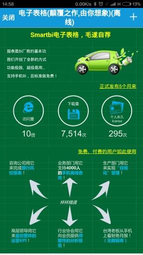 Smartbi电子表格截图6