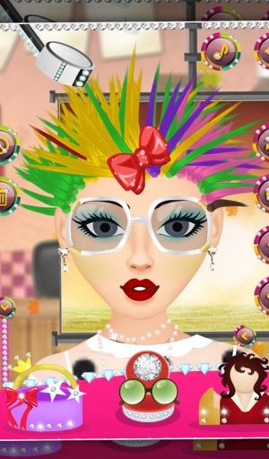 真正的美发沙龙 - 女孩游戏截图1