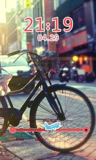单车恋人主题(桌面锁屏壁纸)截图1