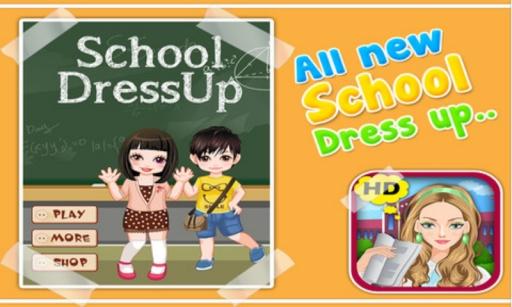 学校装扮 - 儿童游戏截图0