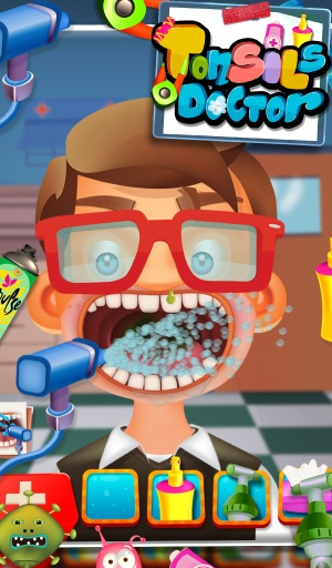 扁桃体医生 - 儿童游戏截图3