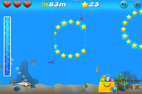 【免費益智App】跳跃的海豚-APP點子
