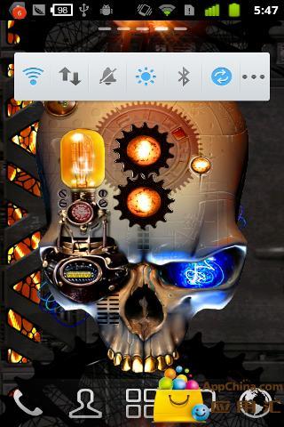 蒸汽朋克骷髅动态壁纸 個人化 App-癮科技App