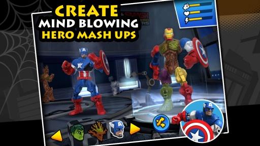 混合破坏:漫威超级英雄合体截图2
