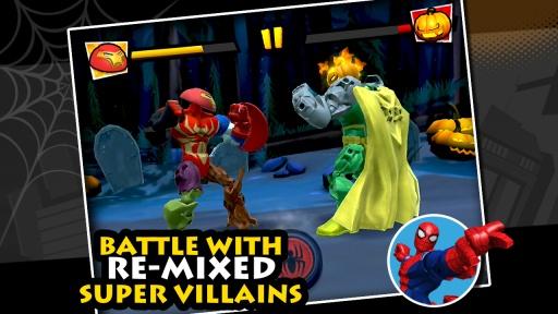 混合破坏:漫威超级英雄合体截图3