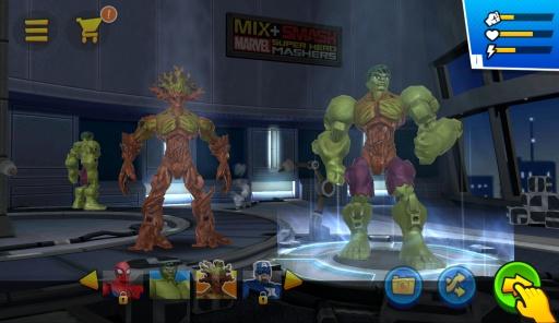 混合破坏:漫威超级英雄合体截图4