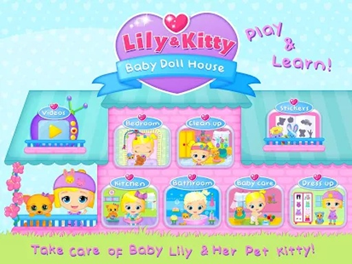 Lily & Kitty Baby Doll House截图3