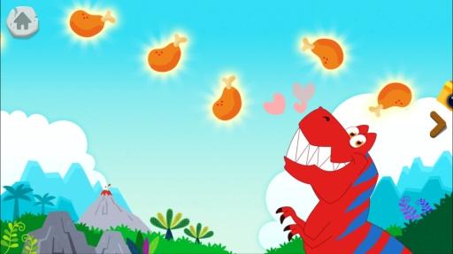 碰碰狐 ! 恐龙王国:和霸王龙一起唱歌、发掘、玩游戏截图1