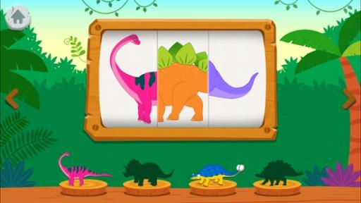碰碰狐 ! 恐龙王国:和霸王龙一起唱歌、发掘、玩游戏截图2