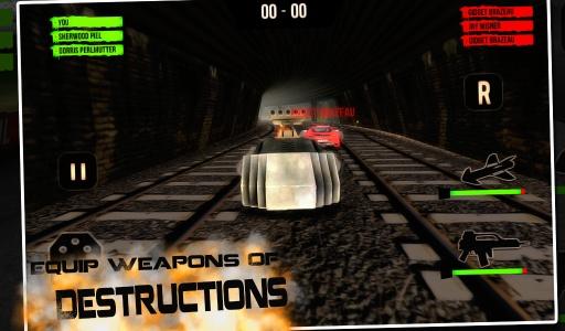 3D暗黑赛车截图2