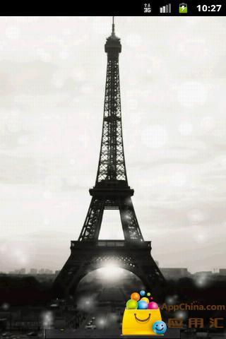 巴黎铁塔动态壁纸 工具 App-愛順發玩APP