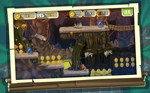 丛林猴子跑酷游戏 - 游戏酷跑截图4