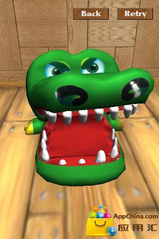 鳄鱼拔牙齿!!! 3D截图2