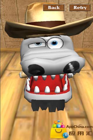 鳄鱼拔牙齿!!! 3D截图4
