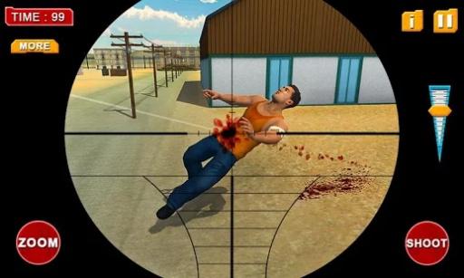 黑帮监狱堆场:狙击手的责任