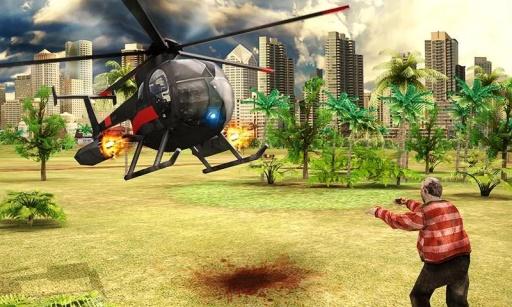 僵尸武装直升机 无限金币版