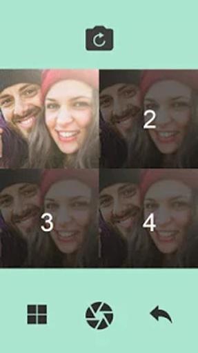 Selfie Grid截图1
