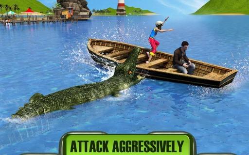 鳄鱼袭击2016截图3