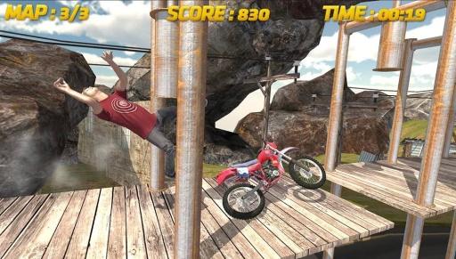 自行车赛3D:特技
