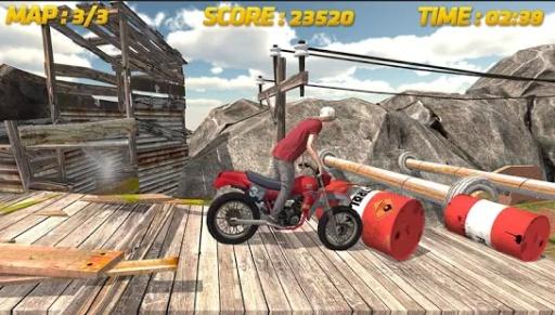 自行车赛3D:特技截图2