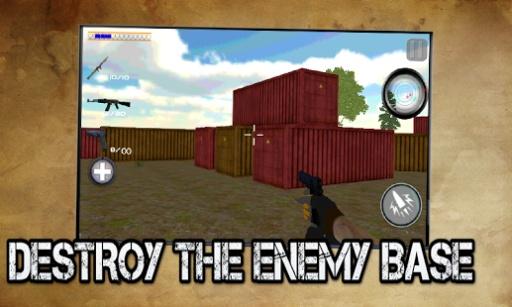 愤怒的杀手狙击射手3D
