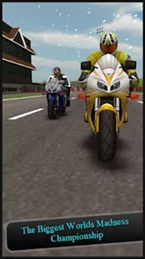 自行车运动赛车3D游戏