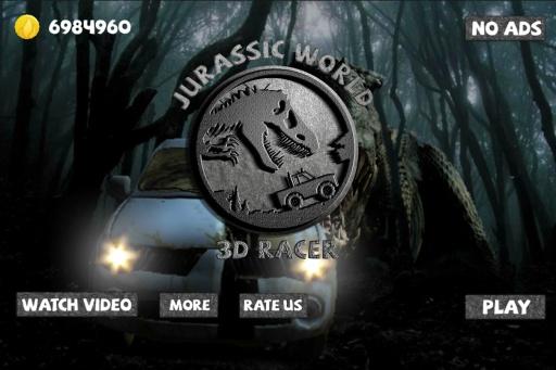 侏罗纪世界3D赛车截图0