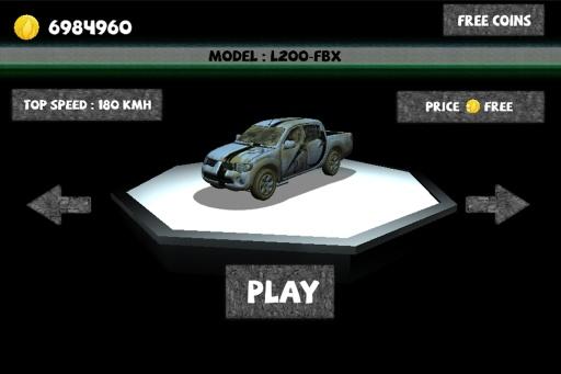侏罗纪世界3D赛车截图2