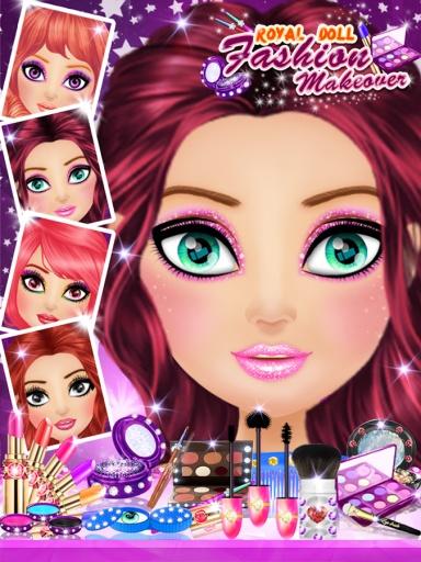 皇家娃娃时尚化妆截图1