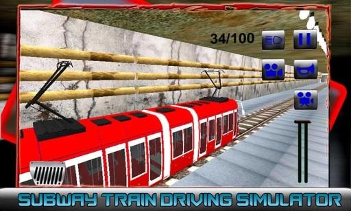 地铁列车驾驶模拟器截图1
