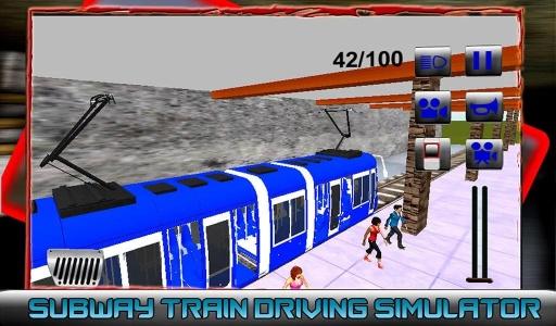 地铁列车驾驶模拟器截图2