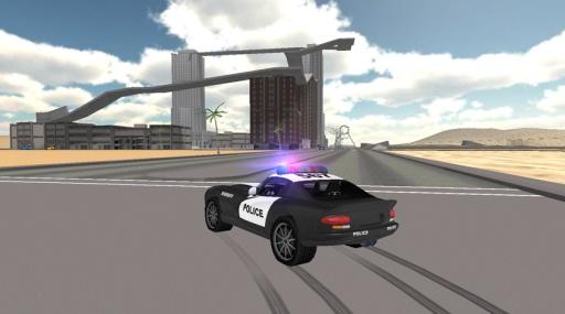 Police Car Driving Simulator截图2