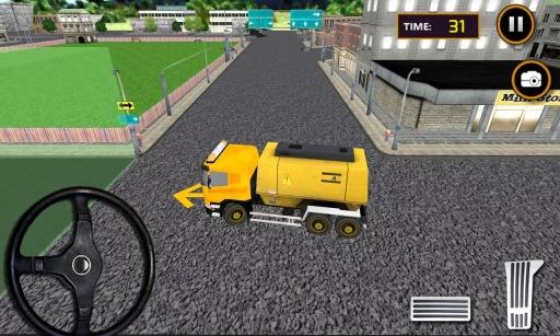 城市道路建设装载机