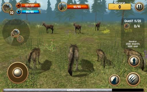 野狼模拟器3D截图0