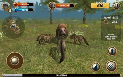 野狼模拟器3D截图3