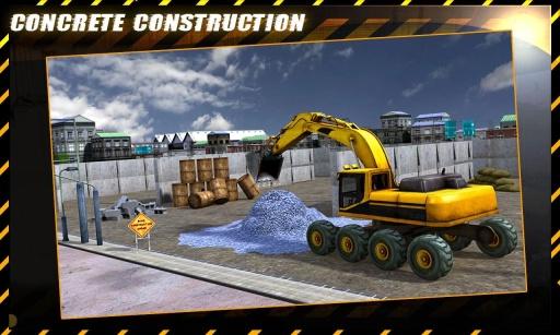 混凝土挖掘机拖拉机辛截图2