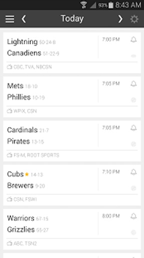 Live Game Updates MLB NFL NBA截图0