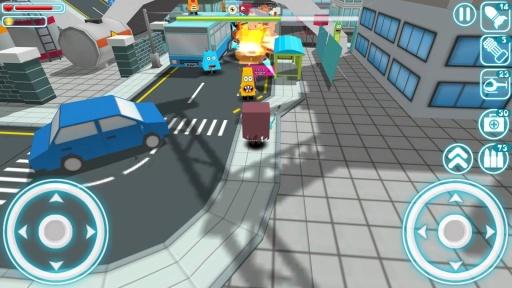 纸片怪兽:城镇冒险截图3