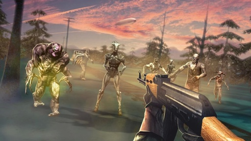 Zombie: Best Free Shooter Game截图0