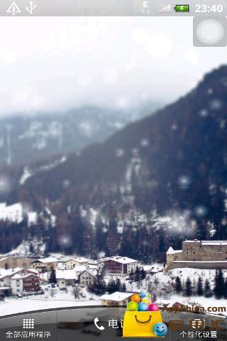【免費工具App】唯美雪景动态壁纸-APP點子