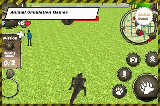 野生鳄鱼模拟器截图0