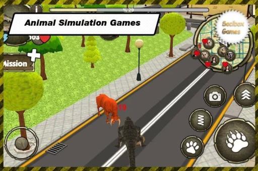 野生鳄鱼模拟器截图2