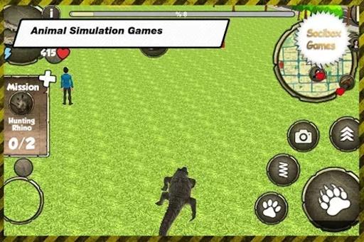 野生鳄鱼模拟器截图5