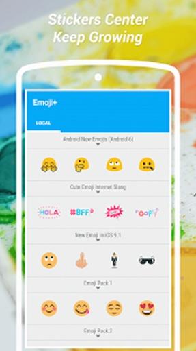 Emoji Stickers Camera: No Crop截图1