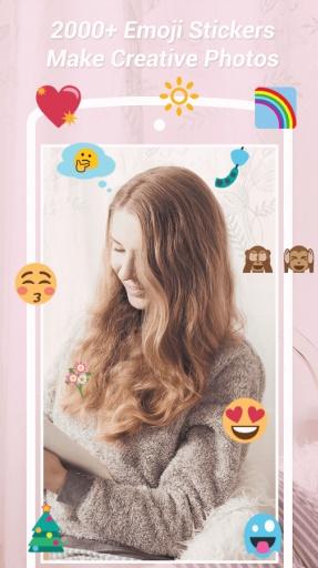 Emoji Stickers Camera: No Crop截图5