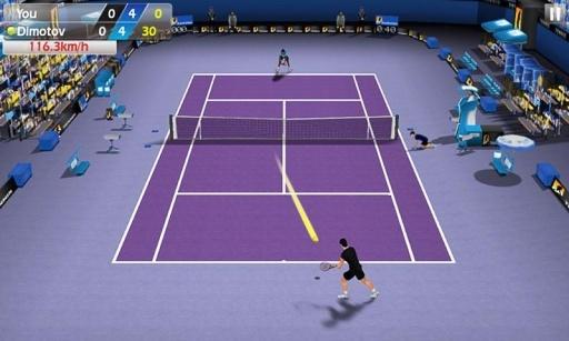 指尖网球截图0