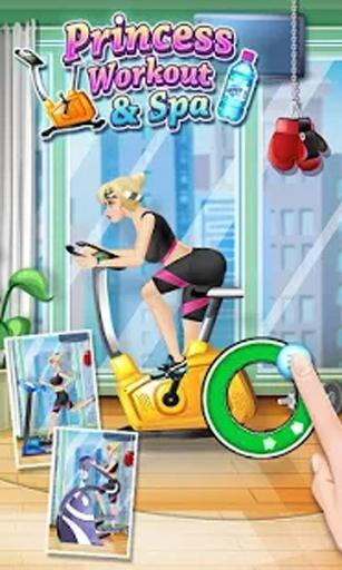 公主健身SPA - 免费化妆,换装和健身游戏