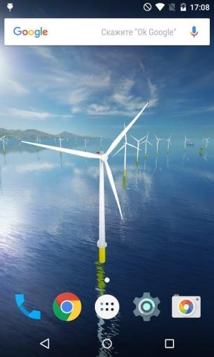 风力发电机动态桌面:Coastal截图0