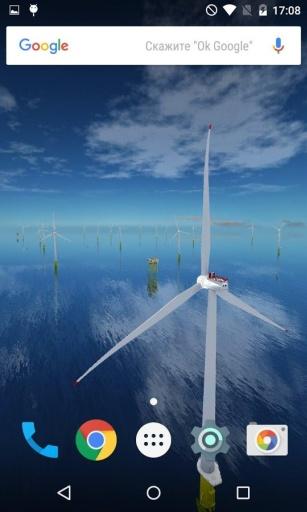 风力发电机动态桌面:Coastal截图2
